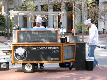 Creme Brulee Guy Changing Shifts
